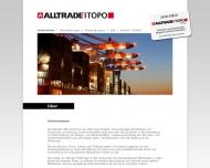 Bild Webseite Alltrade TOPO Hamburg