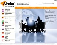 Bild Webseite Alroko Hamburg