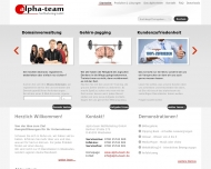 alpha-team NetMarketing GmbH - Ihr Webdienstleister