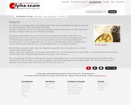Website alpha-team NetMarketing