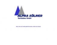 Bild Alpha.Kölner Gerüstbau GmbH