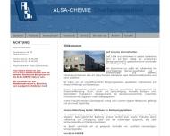 Bild ALSA-CHEMIE Oberflächentechnik
