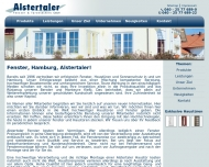 Bild Webseite Alstertaler Fenster + Türentechnik Hamburg