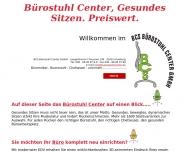 Bild Webseite BCS Bürostuhl Center Hamburg
