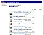 Bild Webseite mfb Hausverwaltung Magdeburg