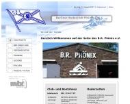 Bild Webseite Berliner Ruderclub Phönix Berlin