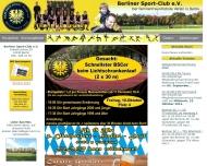 Bild Webseite Berliner Sport-Club Berlin