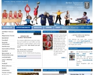 Bild Webseite BERLINER TURNERSCHAFT KORPORATION (Turn- u. Sportverein Berlin