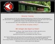 Website Berliner Sport und Freizeit