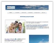 Bild Webseite BCM Bauconsult München