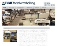 Bild BCK Metallverarbeitung GmbH