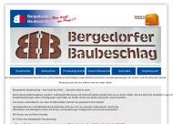 Bild Webseite Bergedorfer Baubeschlag Hamburg