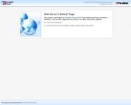 Default Parallels Plesk Panel Page
