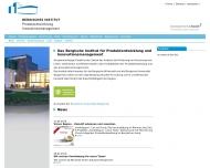 Bild Bergisches Institut für Produktentwicklung und Innovationsmanagement GmbH
