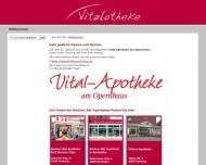 Bild Webseite Berliner Bär Vitalotheke Inh. Farina Bellingrodt Hamburg