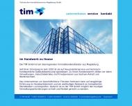 Bild Webseite TIM Magdeburg