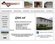 Bild Webseite Bergsicherung Freital Freital