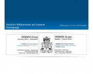 Bild Webseite HERMESS Hausverwaltung Düsseldorf