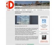 Website Behringer + Dittmann Bohrgesellschaft