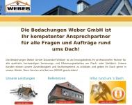 Bild Bedachungen Weber GmbH