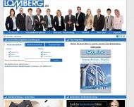Bild Webseite Lomberg Immobilien Düsseldorf