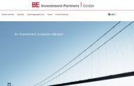 Bild Webseite BE Investment-Partners Köln