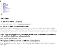 Bild BFS Bildungszentrum für Sicherheit und Dienstleistung GmbH