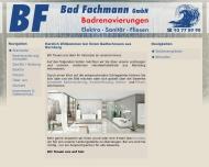Bild Webseite BF Wasch- und Spültechnik Inhaber Clemens Rinnhofer e.Kfm. Nürnberg