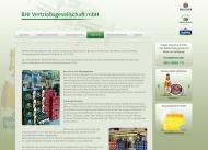 Website BHI Vertriebsgesellschaft