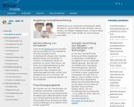 Bild Webseite Laue & Bibow Immobilien Hamburg