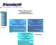 Website BK Hausverwaltung