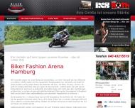 Bild Webseite Biker fashion Arena Hamburg Hamburg