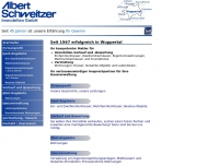 Bild Webseite Albert Schweitzer Immobilien Wuppertal