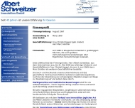 Website Albert Schweitzer Immobilien