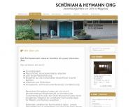 Website Schönian & Heymann