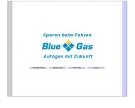 Bild Webseite Blue Gas Hamburg