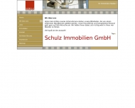 Website Schulz Immobilien