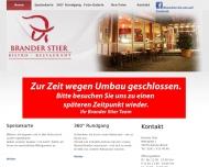 Brander Stier Steakhaus Mangal Aachen Brand