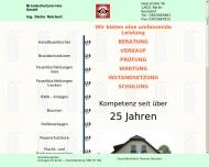 Bild Webseite Brandschutzservice Berlin