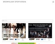 Bild Webseite Bramfelder Sportverein von 1945 Hamburg