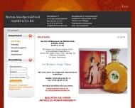 Bild Webseite BREHM-ASIA-SPEZIAL-FOOD Bad Lauterberg im Harz