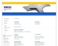 Bild Webseite BRESI Brennschneidbetrieb Siegen