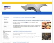 Website BRESI Brennschneidbetrieb