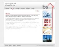 Website bs Ingenieurgesellschaft für Bauwesen