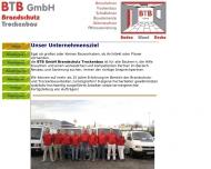 Bild Webseite BTB Aachen