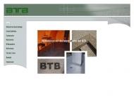 Bild Webseite BTB München Ltd. München