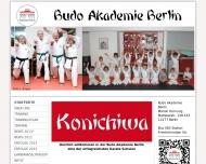 Bild Webseite Budo Akademie Berlin Berlin