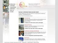 Bild Webseite Buchner & Diethelm Elektrotechnik Endingen am Kaiserstuhl