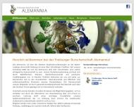 Burschenschaft Alemannia Freiburg Studentenverbindung WG-Zimmer