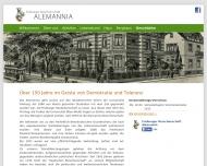 Website Bund Alter Freiburger Alemannen